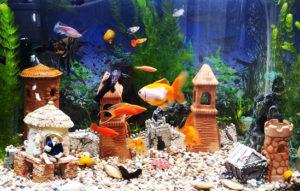 Игрушки для аквариума